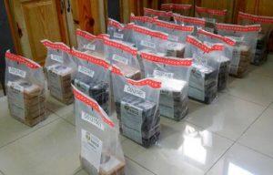 DNCD ocupa 97 paquetes de sustancia presume es cocaína