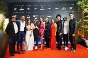 Elenco película «Guayabo» realiza premier en Caribbean Cinemas