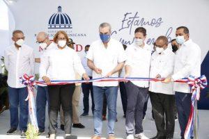 HAINA: Presidente entrega Centro Diagnóstico y Atención Primaria