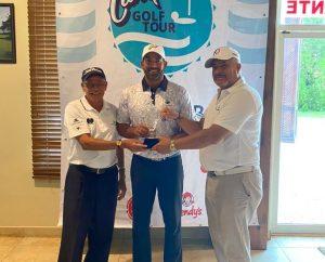 Hiram Silfa conquista la tercera parada del Tour Canita de Golf
