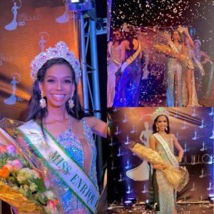 Joven Alicia Matos es electa Miss Enriquillo República Dominicana