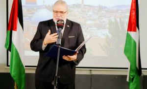 EL CAIRO: Embajador RD entrega credenciales a presidente Palestina