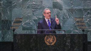 """Abinader exige ONU asuma con  """"altísima prioridad"""" crisis de Haití"""