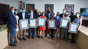 Alcaldía de Jarabacoa reconoce munícipes en su 163 aniversario