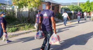 JIMANI: Gobierno entrega comida «casa por casa» a 7,500 familias