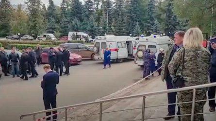 RUSIA: Al menos 8 muertos y 24 heridos en tiroteo universidad