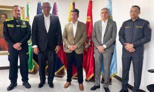 Colombia dará apoyo total a RD para transformación de su Policía