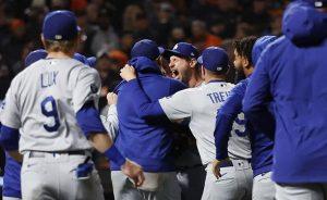 Dodgers ganan 2-1 a Gigantes y avanzan a Serie de Campeonato