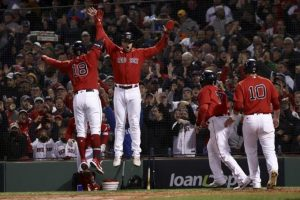 Boston aplasta a los Astros, Kyle Schwarber conecta grand slam