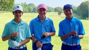 Matías Then, José María Elías y María Del Mar lideran en golf