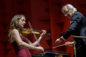 Músicos Filarmónica de Berlín se presentan por primera vez en TN