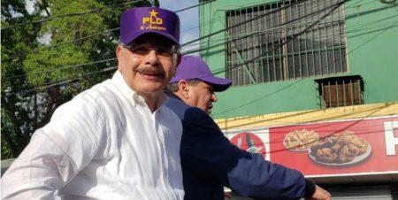 Danilo encabezará desde este domingo actos masivos del PLD