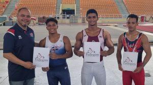 Los gimnastas Contreras, Alba y Mateo ganan competencia en SD