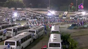 NICARAGUA: Presidente entrega 250 buses rusos a cooperativas