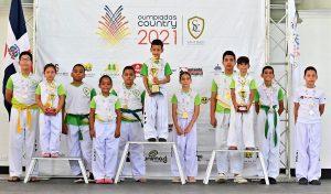 SANTIAGO: Zona Víctor Estrella gana taekwondo en Country Club