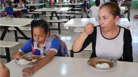 INABIE invierte unos RD$13 mil millones en almuerzo escolar