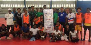 Equipos juveniles de Haití y RD celebran encuentros deportivos