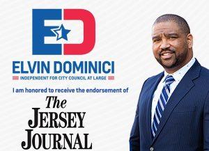 NUEVA JERSEY: Periódico Jersey Journal endosa al dominicano Elvin Dominici