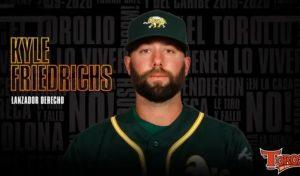 Los Toros anuncian contratación  lanzador derecho Kyle Friedrichs