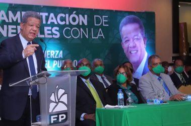 Leonel ve necesario trabajar para que se recupere confianza en PN