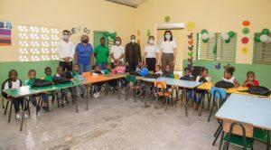 Vuelve alegría a zonas cañeras por apertura del nuevo año escolar