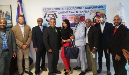 PANAMA: juramentan Federación de Asociaciones Comunitarias Dominicanas
