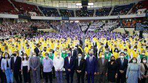 Abinader encabeza graduación de unos 151 mil técnicos y maestros