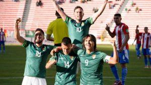 Bolivia aplastó a Paraguay en La Paz y Colombia-Ecuador empate