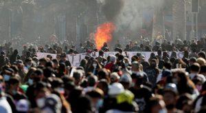 CHILE: Miles conmemoran en Santiago el triunfo ciudadano