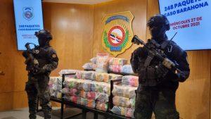 La DNCD ocupa 248 paquetes de cocaína en costas de Barahona