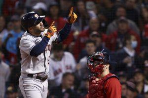 MLB: Astros, con jonrón Altuve, igualan serie ante Medias Rojas