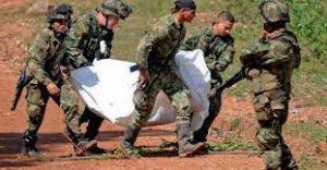 COLOMBIA: Diez disidentes de las FARC muertos en combates