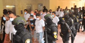 Imponen prisión preventiva a 15 implicados en el caso Falcón