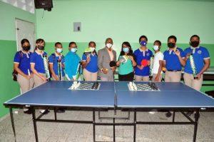 INEFI entrega utilería deportiva a «Liceo Educación para Pensar»