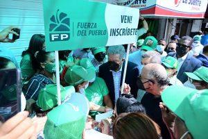 Fuerza del Pueblo inicia en SD jornada nacional de afiliación