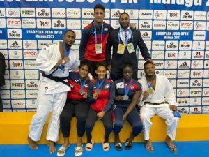 Selección RD gana cinco medallas en Málaga European Open Judo