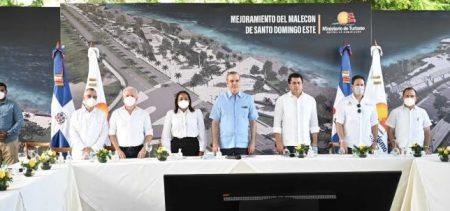 Abinader dice invierten RD$20 mil millones en Santo Domingo Este