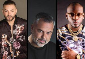 Nacho, Juan Magan y Ceky Viciny actuarán juntos en Blue Live Club
