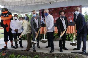Orioles dan inicio construcción de academia propia en R.Dominicana