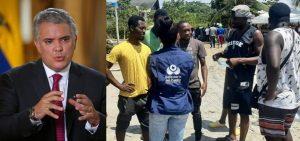 """COLOMBIA: Duque pide solución """"hemisférica"""" para los haitianos"""
