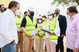 Vicepresidenta y Director del SNS supervisan los hospitales del Este