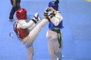 Inauguran campeonato nacional de taekwondo con 400 atletas