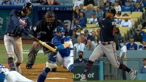 MLB: El bate de Rosario pone a los Bravos a uno de Serie Mundial